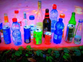 איסוף בקבוקים לתרומה