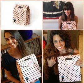 קולז' בנות עם הקופסה